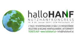 HalloHanf Nutzhanfkongress in Österreich